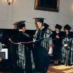 Wręczenie dyplomu maturzystom 1994