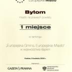 Europejska Gmina. Europejskie Miasto. Śląsk 2008